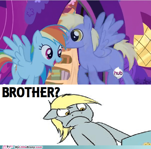 Derpy has a brother????