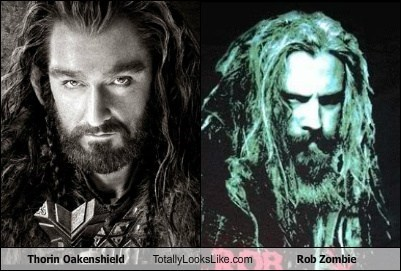 Thorin Oakenshield Totally Looks Like Rob Zombie