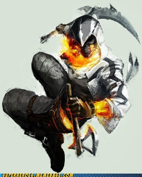 Ghost Assassin Sort of Looks Like a Burning Moon Knight