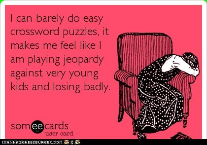 CROSSWORD CONFESSIONS
