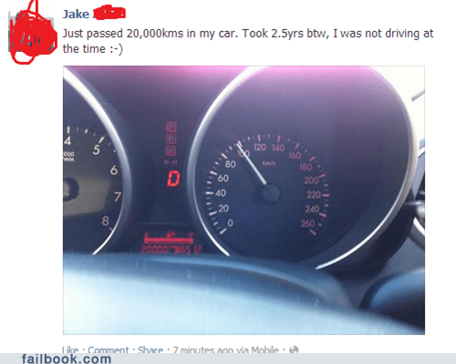 Uh, Your Speedometer Begs to Differ