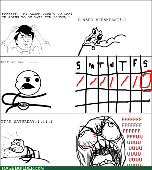 School Day Rage!