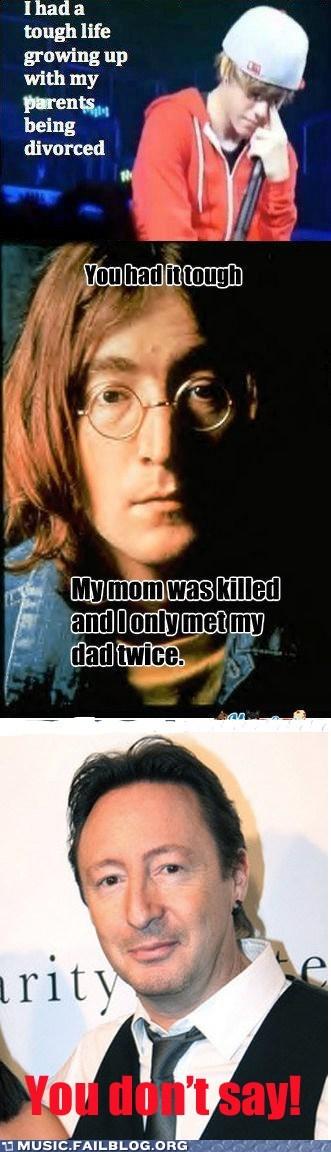 Julian Lennon Wins Round 2