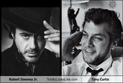 Robert Downey Jr. Totally Looks Like Tony Curtis