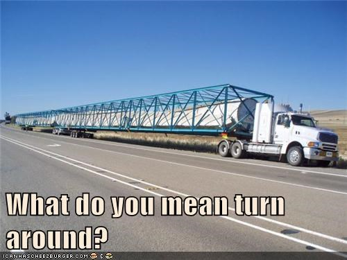 What do you mean turn around?