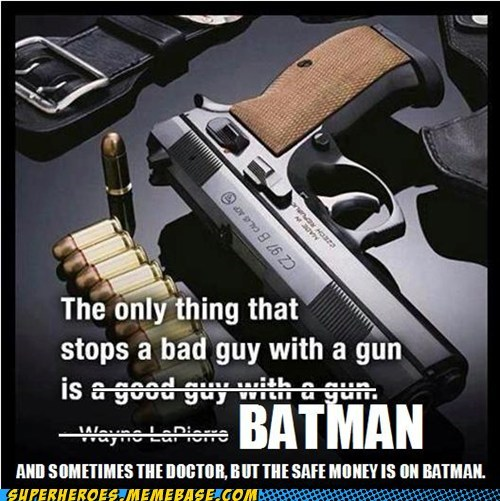 I Always Bet Batman