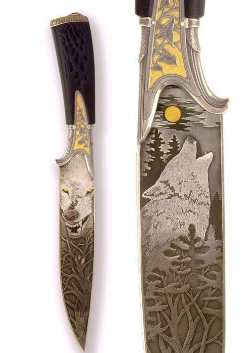 knife,awesome,wolf