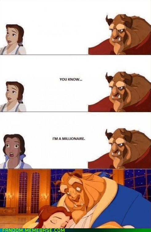 Beauty and the Beast,disney,money