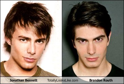 Jonathan Bennett Totally Looks Like Brandon Routh