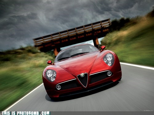 Alfa romeo 8c, hd wallpaper, backgrounds