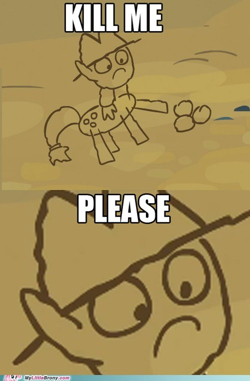 Applejack Needs Art Lessons