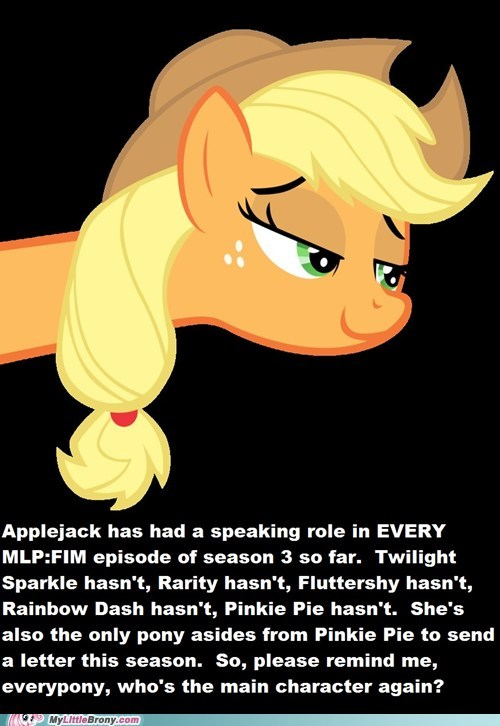 Applejack Is The New Twilight Sparkle