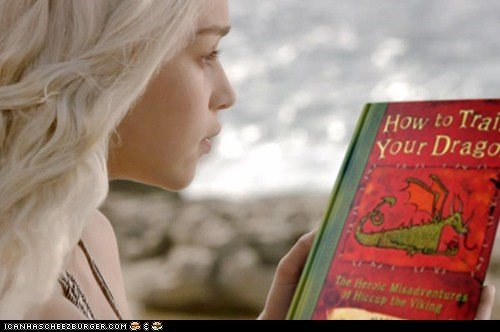 How To Train Daenerys Dragons