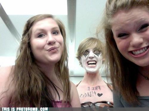 SOON,creepy,Free Hugs,face paint
