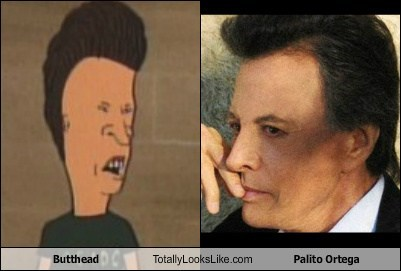 Butthead Totally Looks Like Palito Ortega