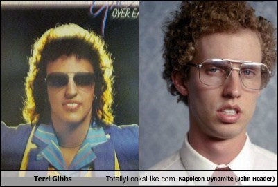 Terri Gibbs Totally Looks Like Napoleon Dynamite (Jon Heder)