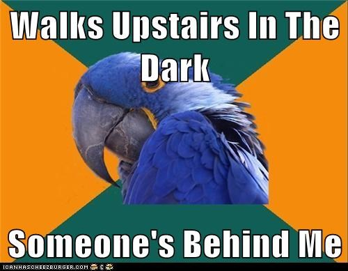 Walks Upstairs In The Dark  Someone's Behind Me