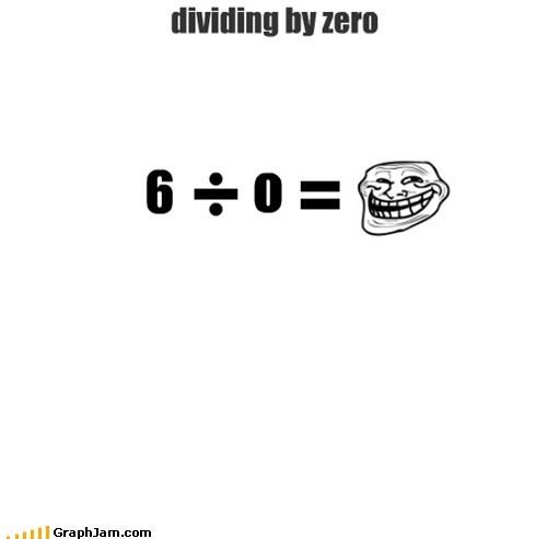 dividing by zero
