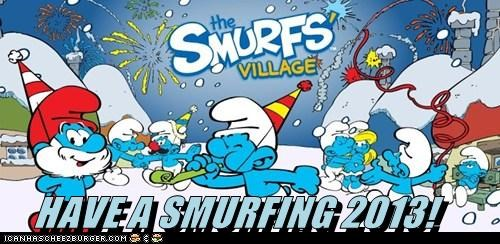 HAVE A SMURFING 2013!