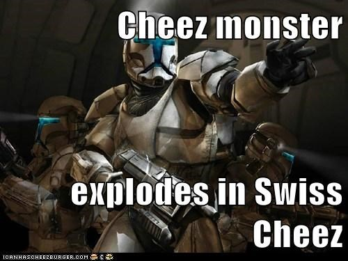 Cheez monster