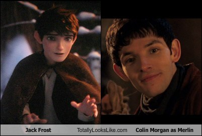 Jack Frost Totally Looks Like Colin Morgan as Merlin