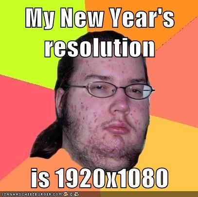 My New Year's resolution  is 1920x1080