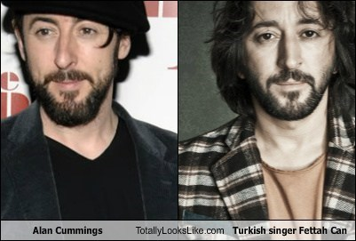 Alan Cummings Totally Looks Like Turkish Singer Fettah Can