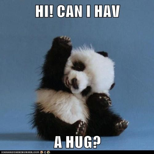 HI! CAN I HAV   A HUG?