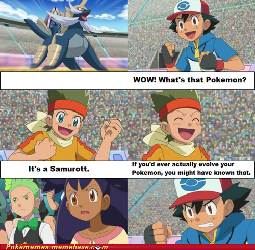 Ash Hardly Ever Evolves His Pokémon