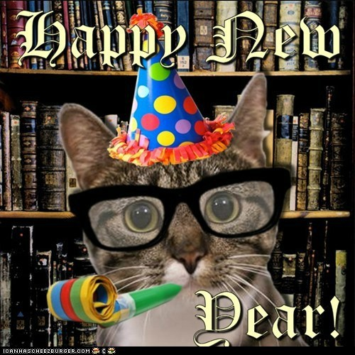 Happy 2013! May your New Year be filled with joy and love and cats and many more wonderful things!