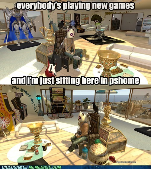 forever playstation home