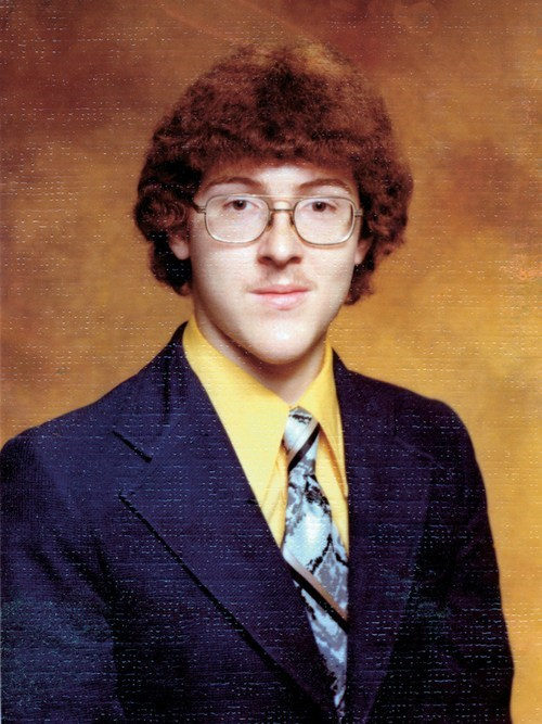 Oh Nothing, Just Weird Al Yankovic's Senior Yearbook Photo