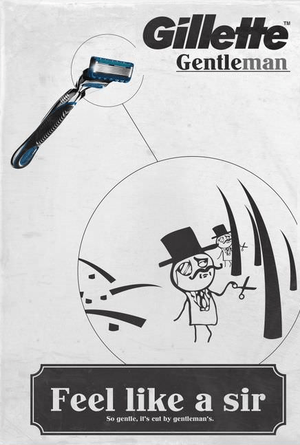 Shaving Like a Sir