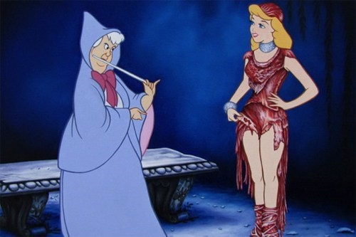 I Don't Know if That's Sending the Right Message, Cinderella...