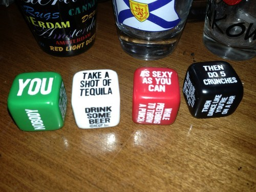 The Glory of the Drinking Dice