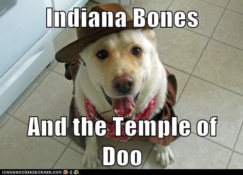 Indiana Bones  And the Temple of Doo