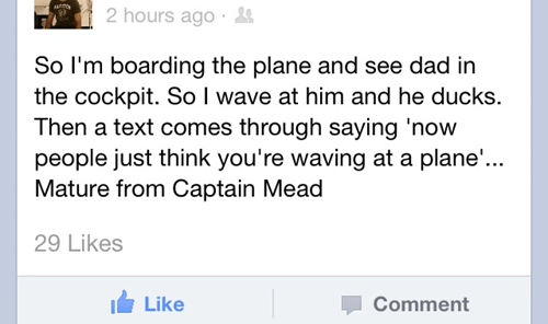 fatherson,facebook,pilot,airplane