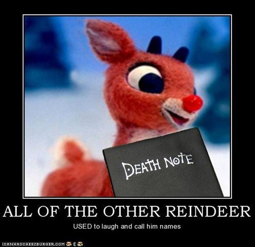 Rudolph, the only reindeer