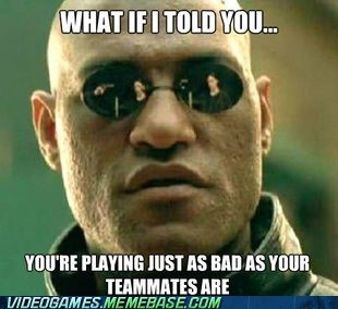 Online Gaming: Yeah, Blame Your Teammates