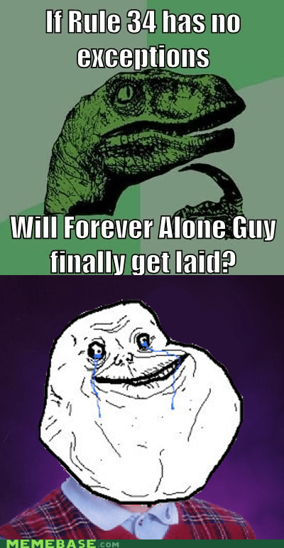 Really is forever alone...
