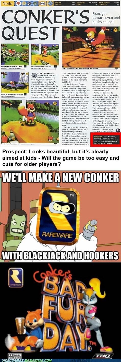 Conker's rare change