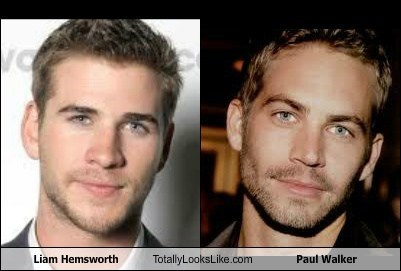 Liam Hemsworth Totally Looks Like Paul Walker