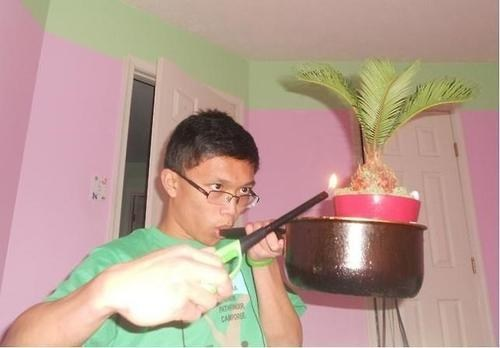 Easy There Kid, That's Way Too Much Pot