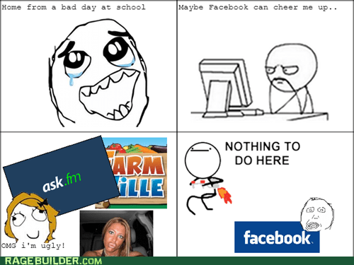 nothing to do here,Farmville,duck face,facebook