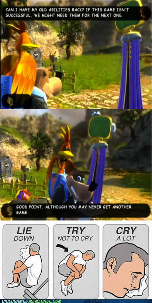 teasing,rare,nuts and bolts,banjo kazooie