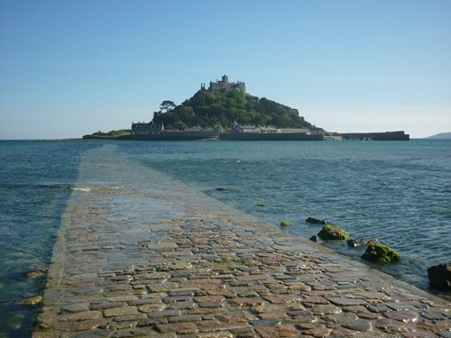 Check Out St. Michael's Mount During Low Tide