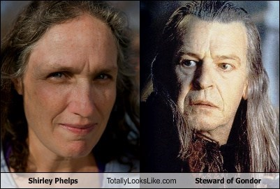 Shirley Phelps Totally Looks Like Steward of Gondor