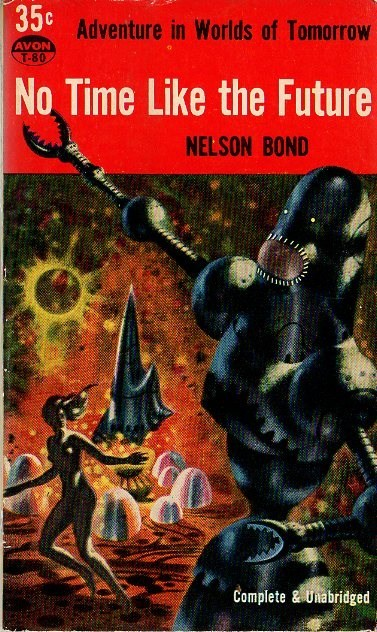 WTF Sci-Fi Book Covers: No Time Like the Future