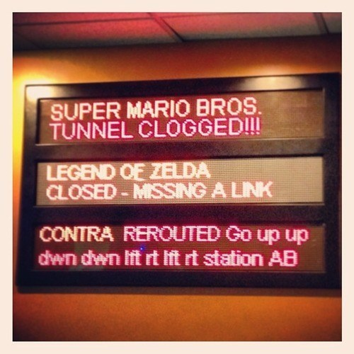 Sign at the Wreck-It Ralph Ride