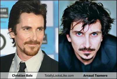 Christian Bale Totally Looks Like Arnaud Tsamèere